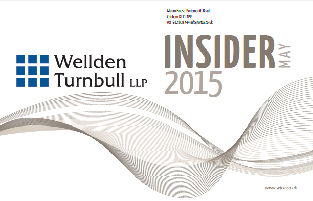 Wellden Turnbull Accounting, Audit Newsletter