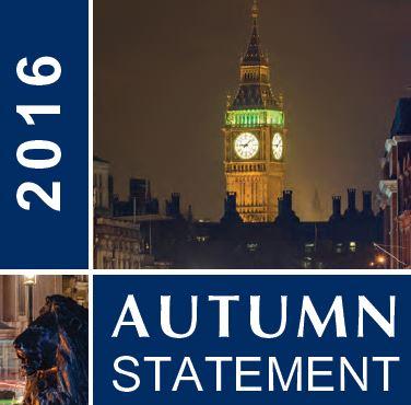 The Autumn Statement 2016