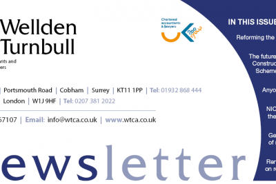 Wellden Turnbull Chartered Accountants Spring Newsletter 2015